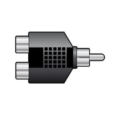760.246 | Adaptor | Splitter 2 x RCA Sockets – RCA Plug