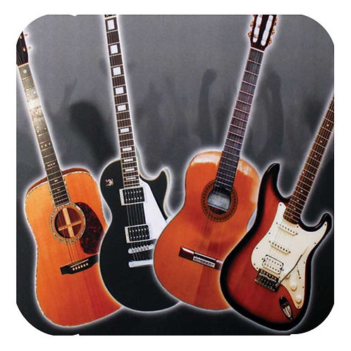 236779V | Coaster | Drinks Coaster Guitar Selection