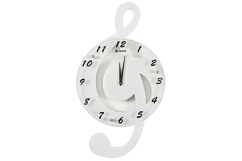 169.105 | Gift | Wall Clock | Treble White