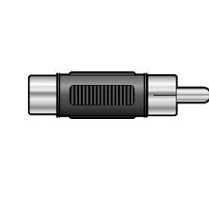 760.621 | Adaptor | Coupler RCA Phono Plug to RCA Phono Plug