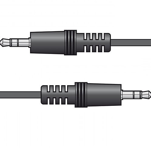 112.040 | Audio Lead | 3.5mm stereo plug to 3.5mm stereo plug lead 6.0m