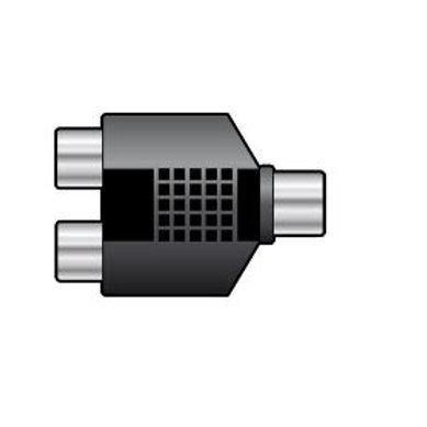 760.24x | Adaptor | Splitter 2 x RCA Plugs to RCA Plug