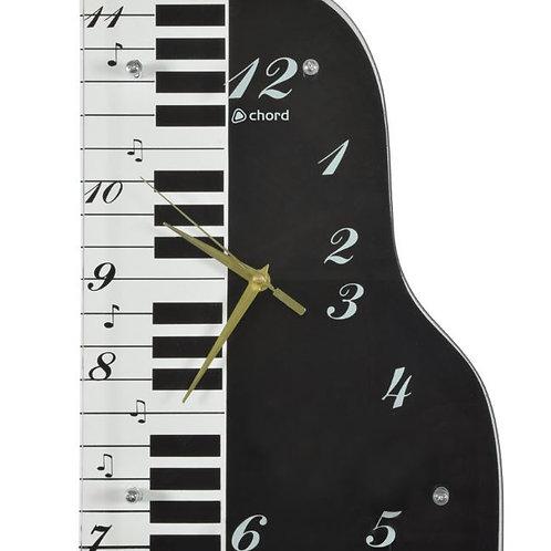 169.101 | Gift | Wall Clock | Music Themed | Piano Clock