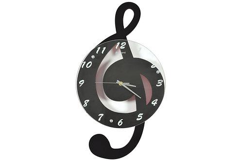 169.104 | Gift | Wall Clock | Treble Black