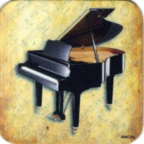 236778C | Coaster | Drinks Coaster Grand Piano
