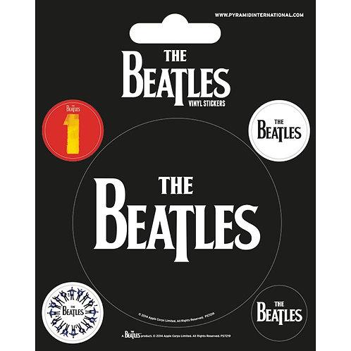 2871734 | Stickers | Beatles Stickers Black | Set Of 5