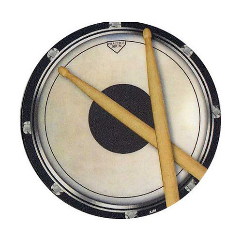 236776T | Coaster | Drinks Coaster Circular Drum Practice Pad