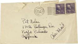 July 25th envelope
