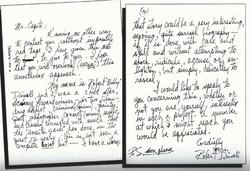 T. Capote letter