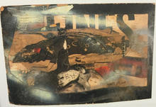 A mixed media collage (1964)