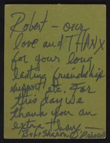 Bob Alexander Letter