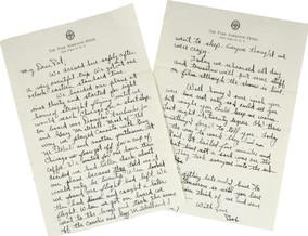 November 30th Letter
