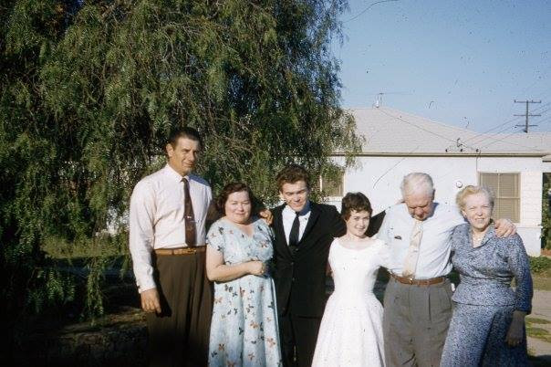 Bobby and Marilyn with parents