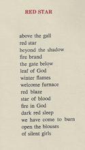 Red Star Poem