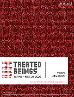 2020 09 08 ~ 10 29 Untreated Beings-홍보포스