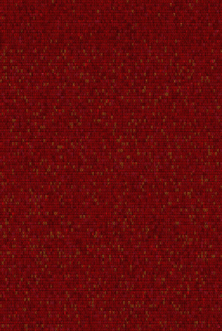 Metamorphosis 08-R-02, 193.9x130.3cm, 14