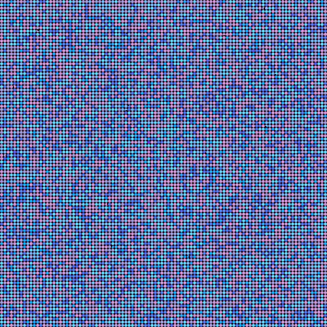 Metamorphosis 24-R-01, 130x130cm, 100x10
