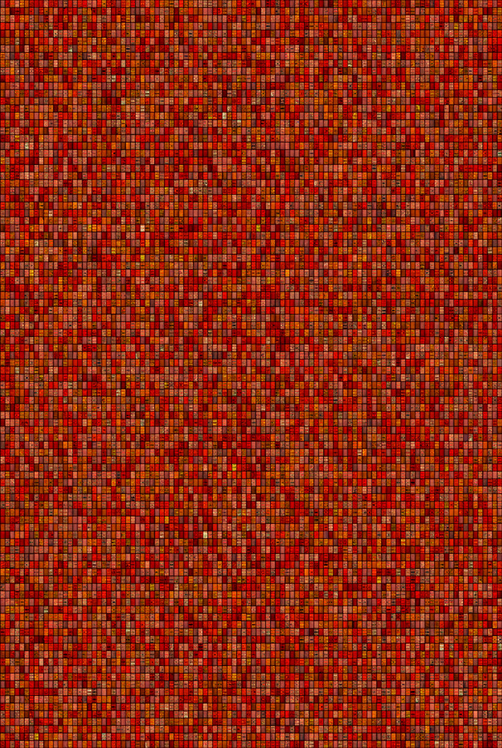 Metamorphosis 19-R-02, 193.9x130.3cm, 14