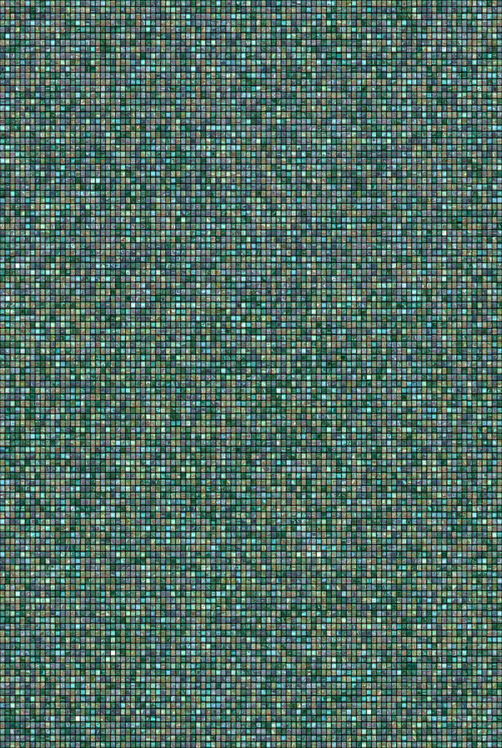 Metamorphosis 13-G-02, 193.9x130.3cm, 14