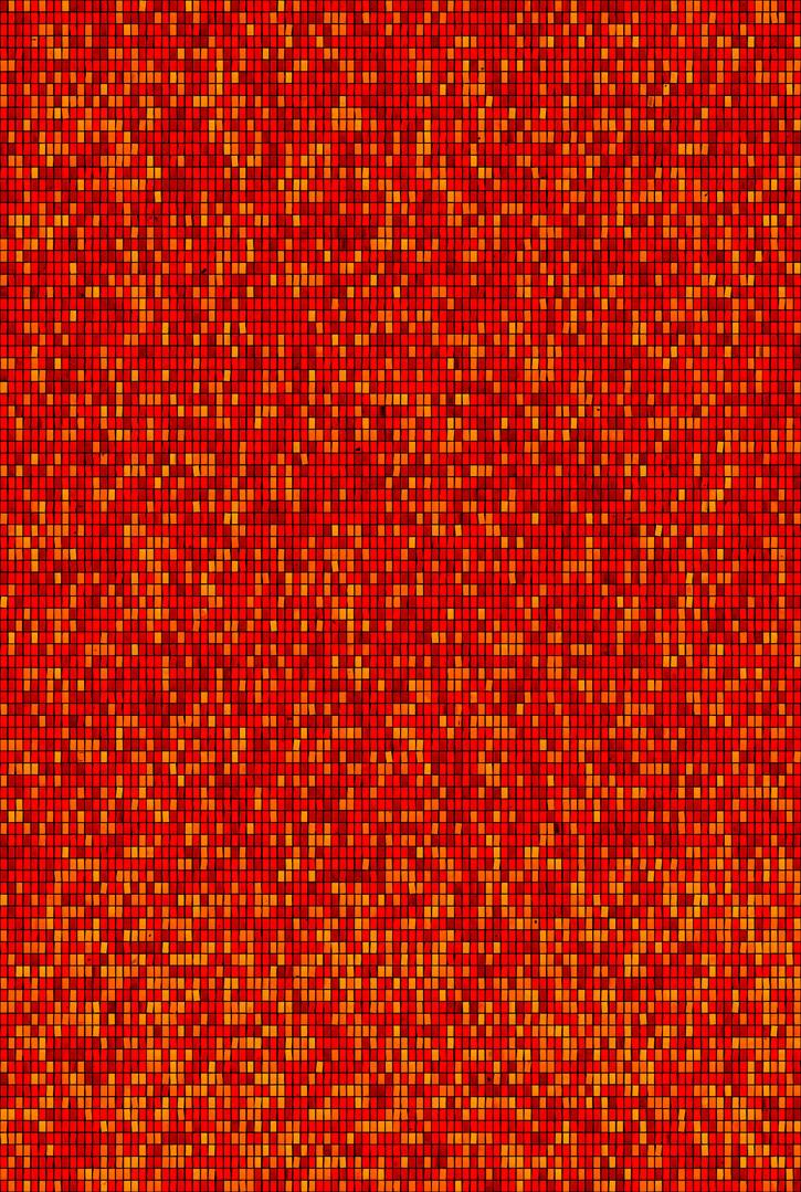Metamorphosis 06-R-03, 193.9x130.3cm, 14