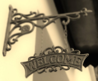 Welcome (detail)