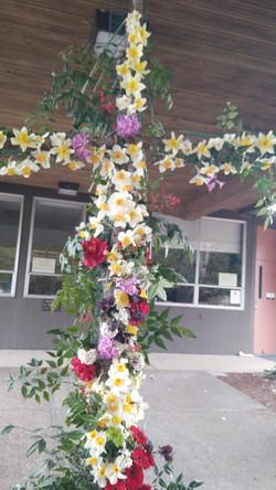 Easter Flower Cross - April 4, 2021