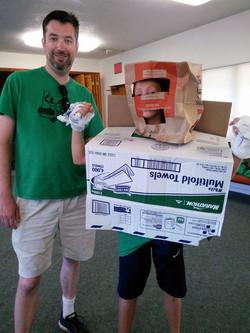 Recycling man! LAST trip 2015