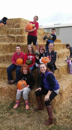 Pumpkin patch trip 2015