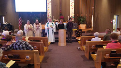 Welcoming new confirmands