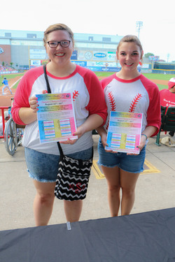 095_Erie SeaWolves_Passing Out Schedules
