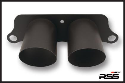 1201 Dual Exhaust Tailpipe