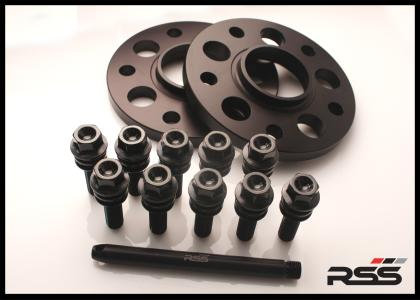 341/11 18mm - Wheel Spacer Kit - Black Anodized