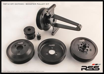 "623 Underdrive Pulley Kit 987 Mk.2 DFI ""Motorsport"