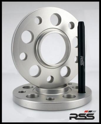 359/10 5mm - Wheel Spacer Kit - Silver Anodized