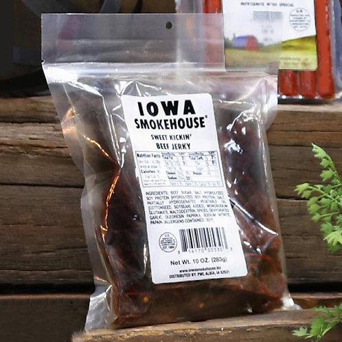 Q - Beef Jerky--SWEET KICKIN'