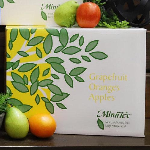 3 - 8 Grapefruit/12 Oranges/10 Braeburn