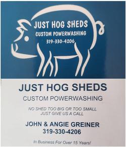 Just Hog Sheds