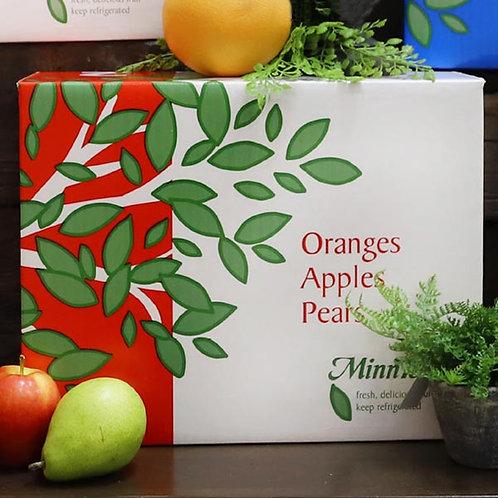 2 - 14 Oranges/12 Braeburn/10 Pears