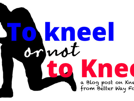 to kneel or not to kneel...