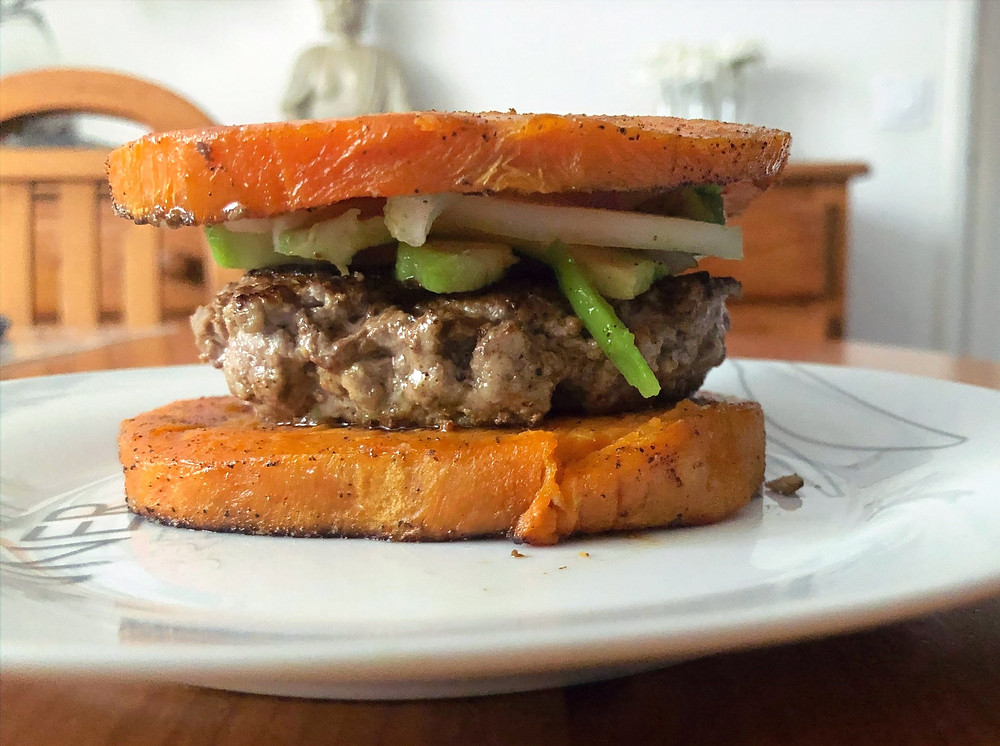 adaptation sans lectine du burger traditionnel