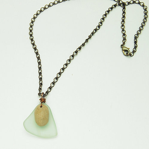 Lake Water Necklace
