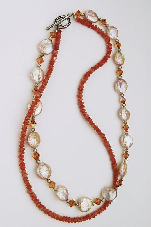 Sunstone Necklace