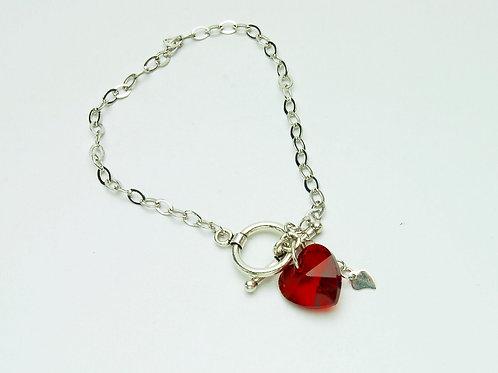 Crystal Clear Love Bracelet