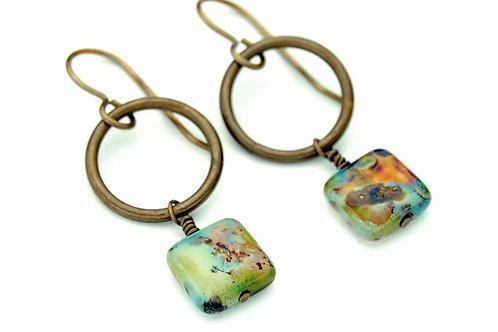 Watercolor Earrings