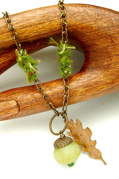 Young Acorn Necklace