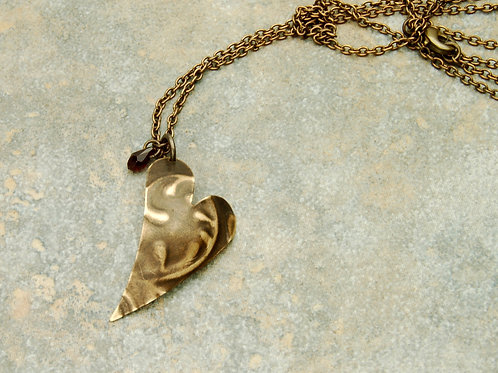 Entangled Heart Necklace