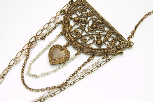 Vintage Valentine Necklace