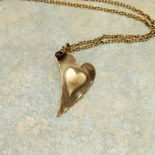 My Pounding Heart Necklace