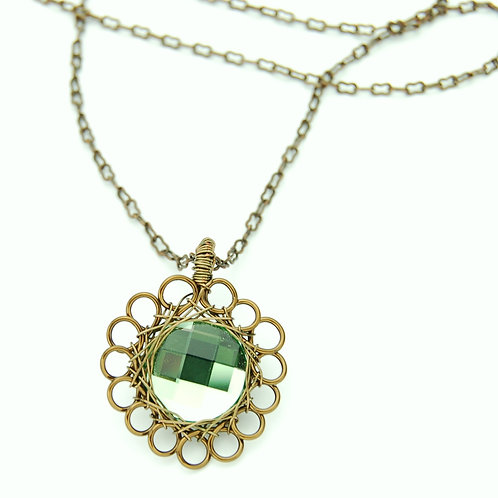 Loopy Crystal Necklace