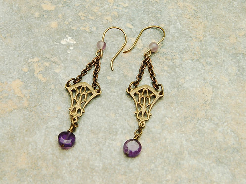 Grape Wine Earrings